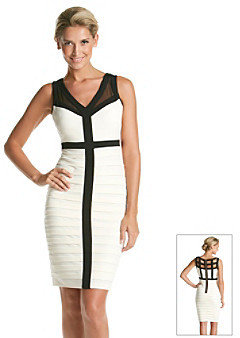 Jax Banded Colorblock Dress
