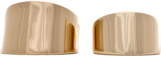 Maison Martin Margiela Set of 2 Rings in Gold