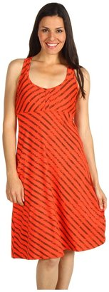 The North Face Abby Dress (Juicy Red Print) - Apparel