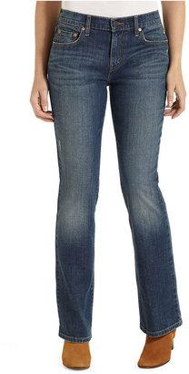 Levi's Petite Jeans, 515 Bootcut Leg, Vintage Frost Wash