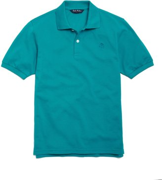 Brooks Brothers Short-Sleeve Solid Pique Polo