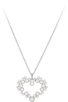 Disney Mickey Mouse Icon Diamond Heart Necklace