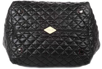 MZ Wallace 'Small Metro' Quilted Oxford Nylon Tote - Black