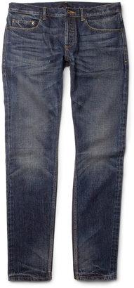 Burberry Slim-Fit Washed-Denim Jeans