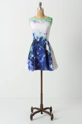 Anthropologie Geological Cutout Mini Dress