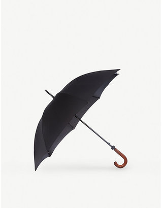 Fulton Women's Black Huntsman Extra-Strength Umbrella