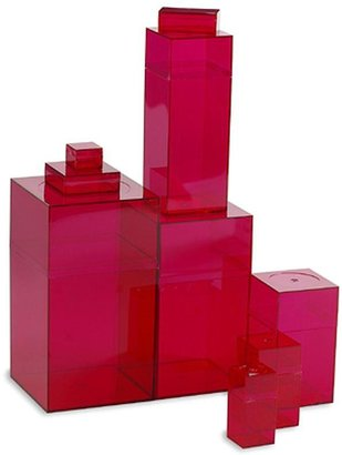 Container Store Amac Box Fuchsia