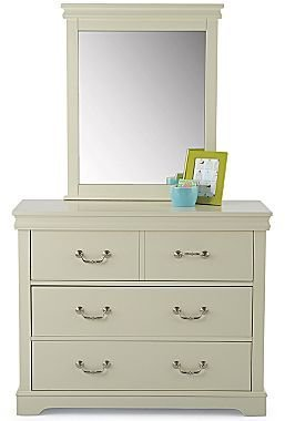 JCPenney Dresser or Mirror, Darby White Kids Bedroom
