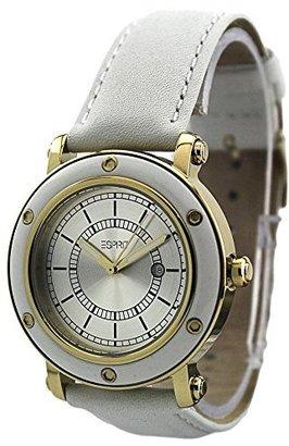 ESPRIT Women's ES104042005 Deco Gold White Classic Fashion Analog Wrist Watch $29.99 thestylecure.com
