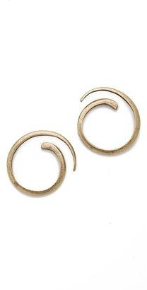 Gar-De Avant garde paris Spirale Earrings