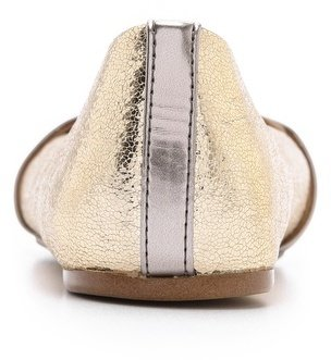 Jeffrey Campbell Lynda Metallic Loafers