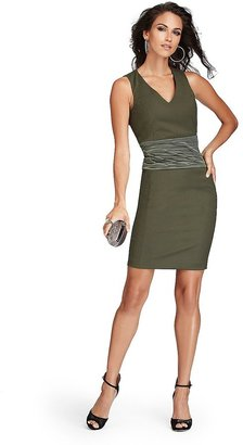GUESS by Marciano Modern Military Structured Dress