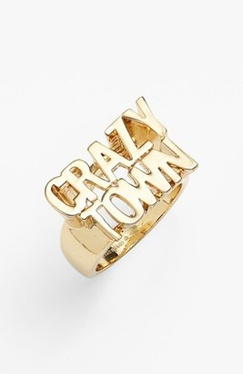 Kate Spade 'say Yes - Crazy Town' Ring