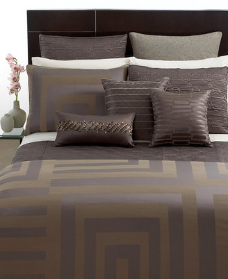 Hotel Collection Columns Full/ Queen Duvet Cover