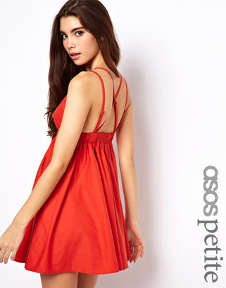 Asos Exclusive Strappy Back Skater Dress