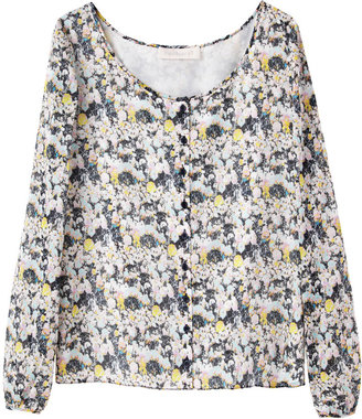 Cacharel Printed Cotton Voile Shirt