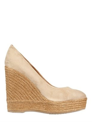 Paloma Barceló 120mm Suede Rope Wedges
