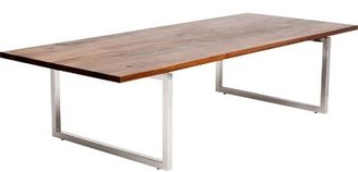 """Artless Gax Dining Table Size: 30"""" H x 72"""" W x 36"""" D, Color: Polished Copper"""