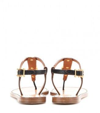 Valentino Embellished leather sandals