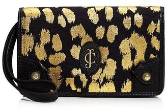 Juicy Couture Beverly Leopard Tech Wristlet