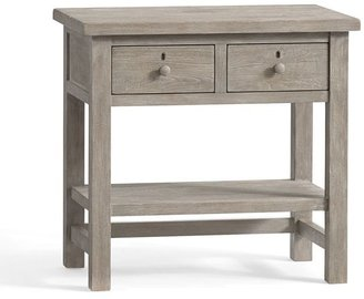 Pottery Barn Farmhouse 2-Drawer Bedside Table