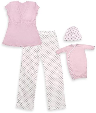 I Play Mommy & Me Small/Medium Pajamas in Pink -