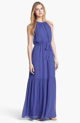Jessica Simpson Laser Cutout Maxi Dress