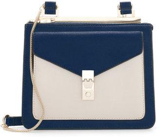 Zara Messenger Bag With Metallic Fastener