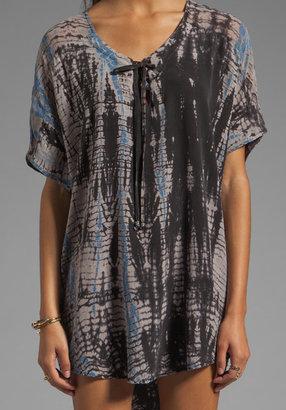 Gypsy 05 Miyoshi Lace Front Dolman Sleeve Dress