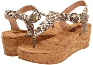7 For All Mankind Avalon (Natural Snake Print Nubuck) - Footwear