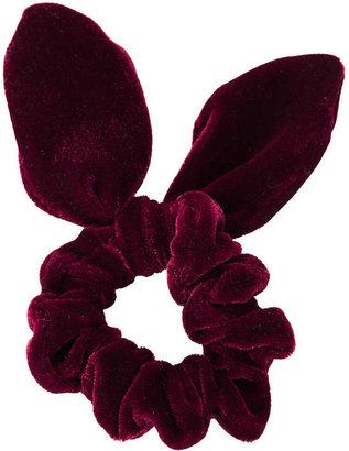 Topshop Velvet Bunny Ear Scrunchie