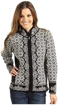 Dale of Norway Christiania (Black/Off White) Women's Sweater