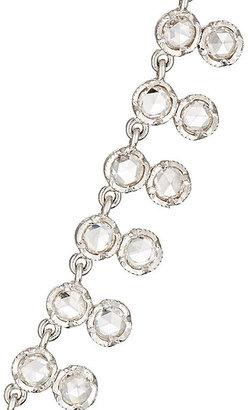 Irene Neuwirth Diamond Collection Women's White Diamond Necklace-SILVER, NO COLOR