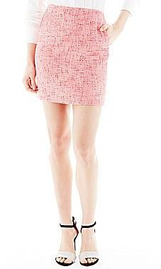 Joe Fresh Joe FreshTM Tweed Mini Pencil Skirt