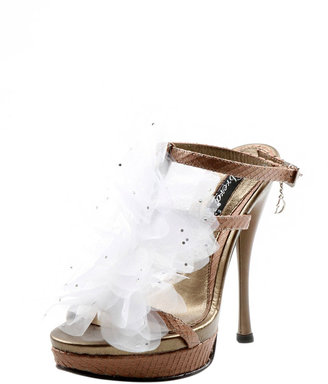 Dibrera Tulle Flower Detailed Sandal