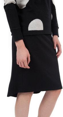 Graham & Spencer Solid Ponti Skirt