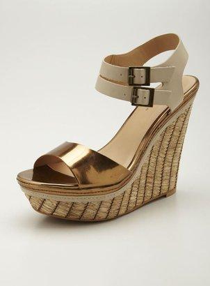 Mia Strut High wedge Sandal