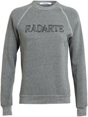 Rodarte Barbed Wire Radarte Printed Sweatshirt