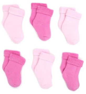 Country Kids Unisex-Baby Infant 6-Pack Terry Bootie