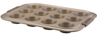Anolon 12-c. Nonstick Bronze Collection Bakeware Muffin Pan