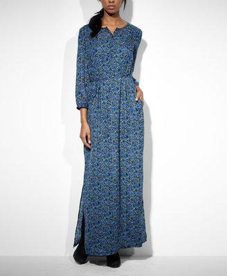Levi's Pleated Maxi Dress