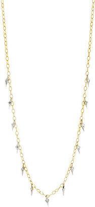 Cathy Waterman Women's Charm Fringe Necklace
