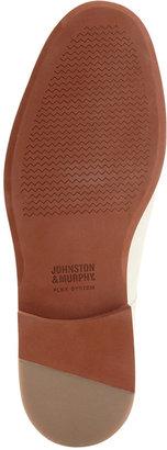 Johnston & Murphy Ellington Suede Plain Toe Shoes