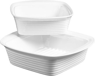 Denmark 2-pc. Porcelain Square Baking Dish Set