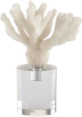 John-Richard Collection White Coral and Shell Sculptures