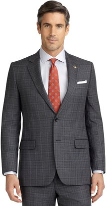 Brooks Brothers Fitzgerald Fit Plaid with Deco 1818 Suit