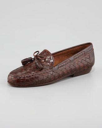 Sesto Meucci Neda Woven Leather Slip-On Loafer