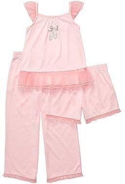 Carter's 3-pc. Ballerina Pajamas - Girls 12m-24m