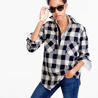 Buffalo check shirt-jacket $118 thestylecure.com