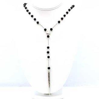 Chan Luu Black Lava Stone Dagger Necklace